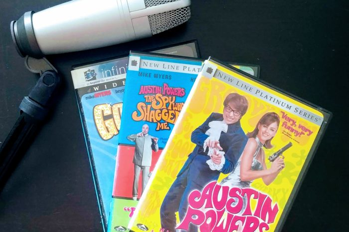 Austin Powers trilogy DVDs
