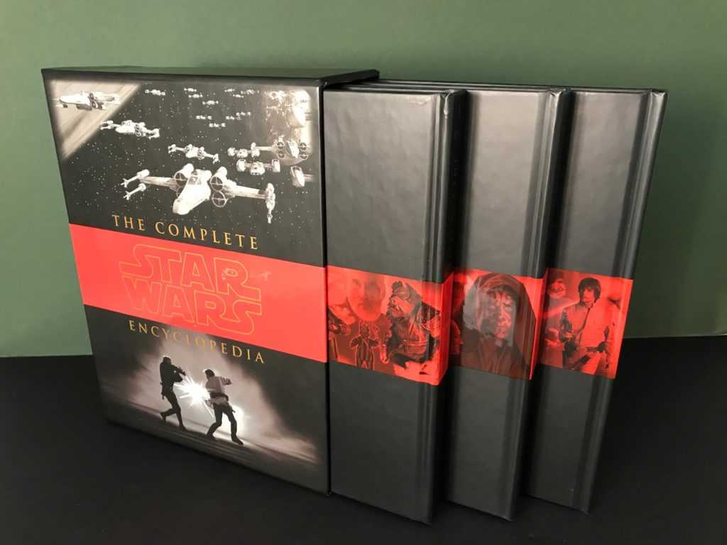 Book set of the Complete Star Wars Encyclopedia