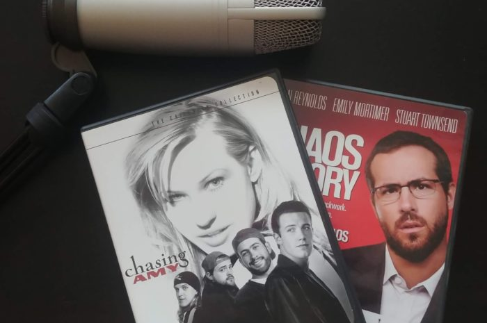 Chaos Theory and Chasing Amy DVDs with a microphone