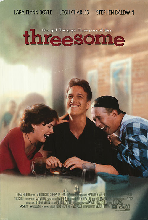 threesome movie poster