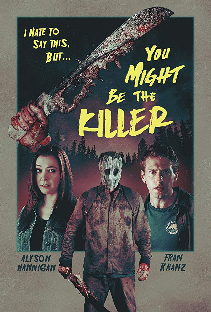 Poster for the movie you might be the killer