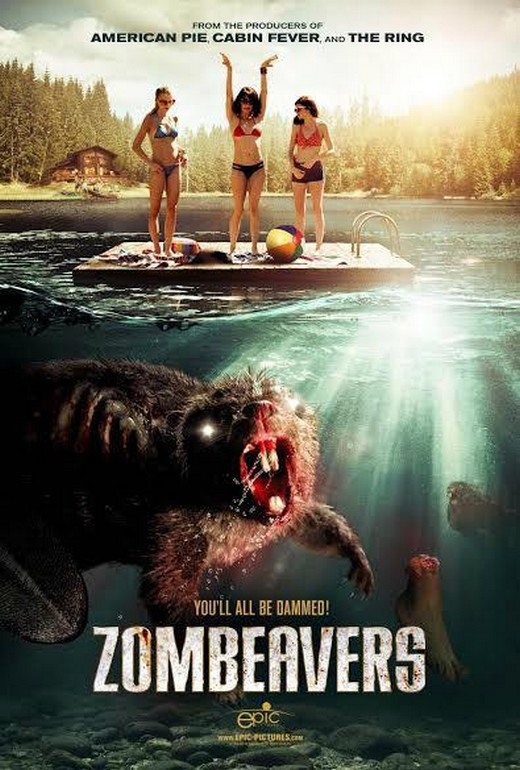 poster for the movie zombeavrs