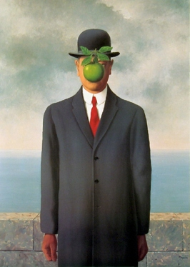 Rene Magritte, The Son of Man, 1964