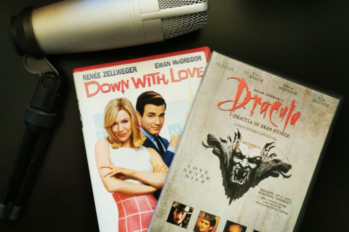 Down With Love and Dracula DVD Cases