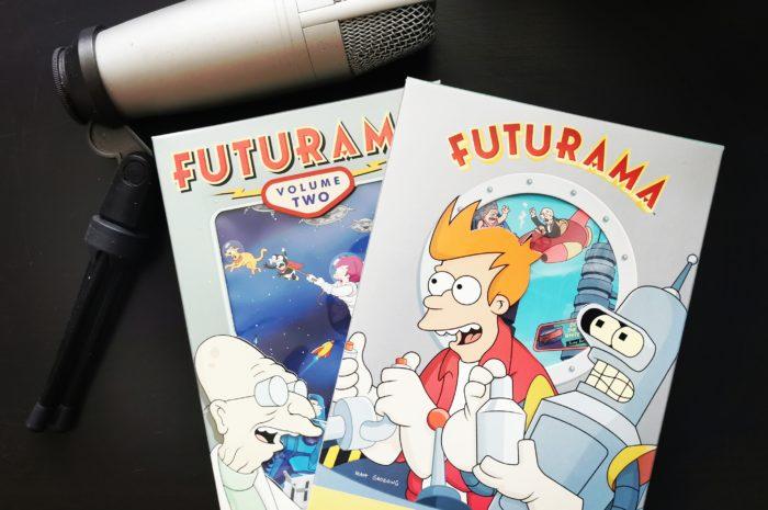 Futurama DVDs
