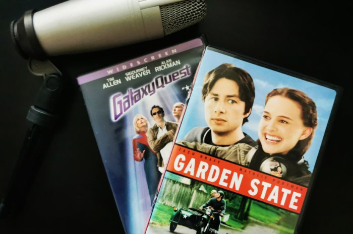 Galaxy Quest and Garden State DVDs