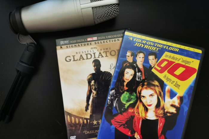 Gladiator and Go DVD covers