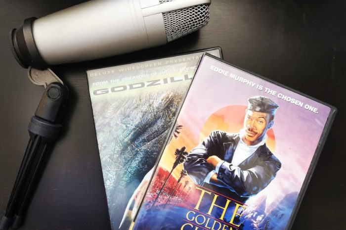 Godzilla(1998) and The Golden Child DVDs