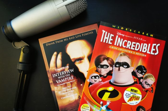 The Incredibles and Interview with the Vampire DVDs