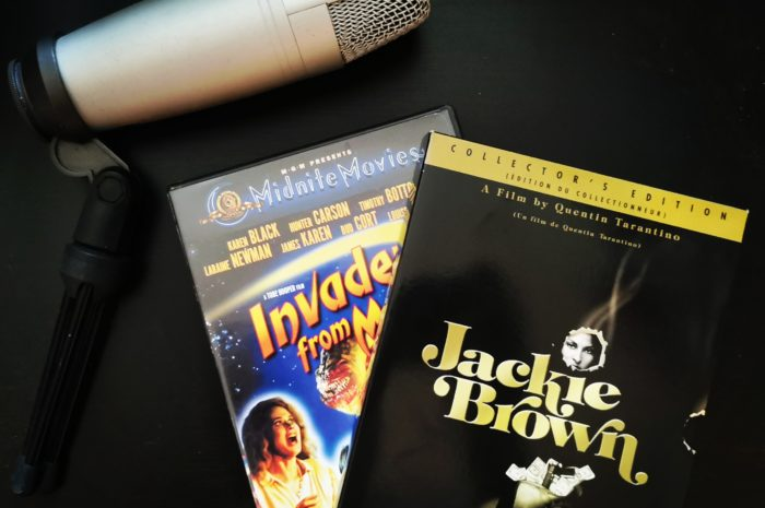 Invaders From Mars and Jackie Brown DVDs